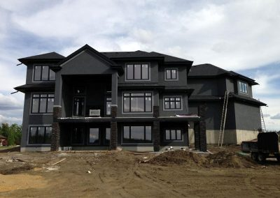 Walker Lake Estates New Home Construction, Alberta